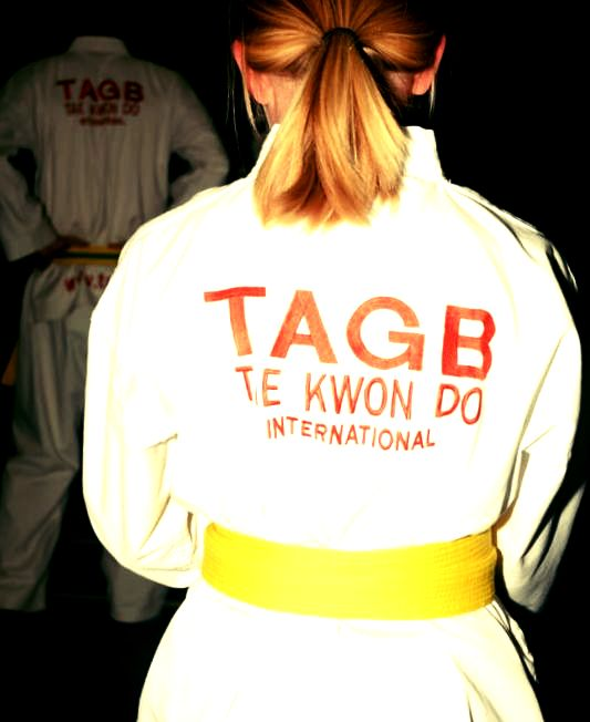 Whitchurch, Malpas, Oswestry Taekwondo yellow belt